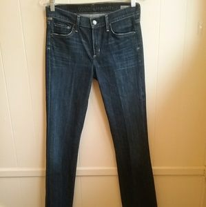 CITIZENS OF HUMANITY AMBER MIDRISE BOOT CUT JEANS.